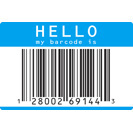 HELLO my barcode is
