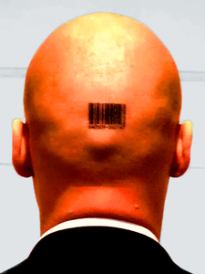 Hitman barcode tattoo