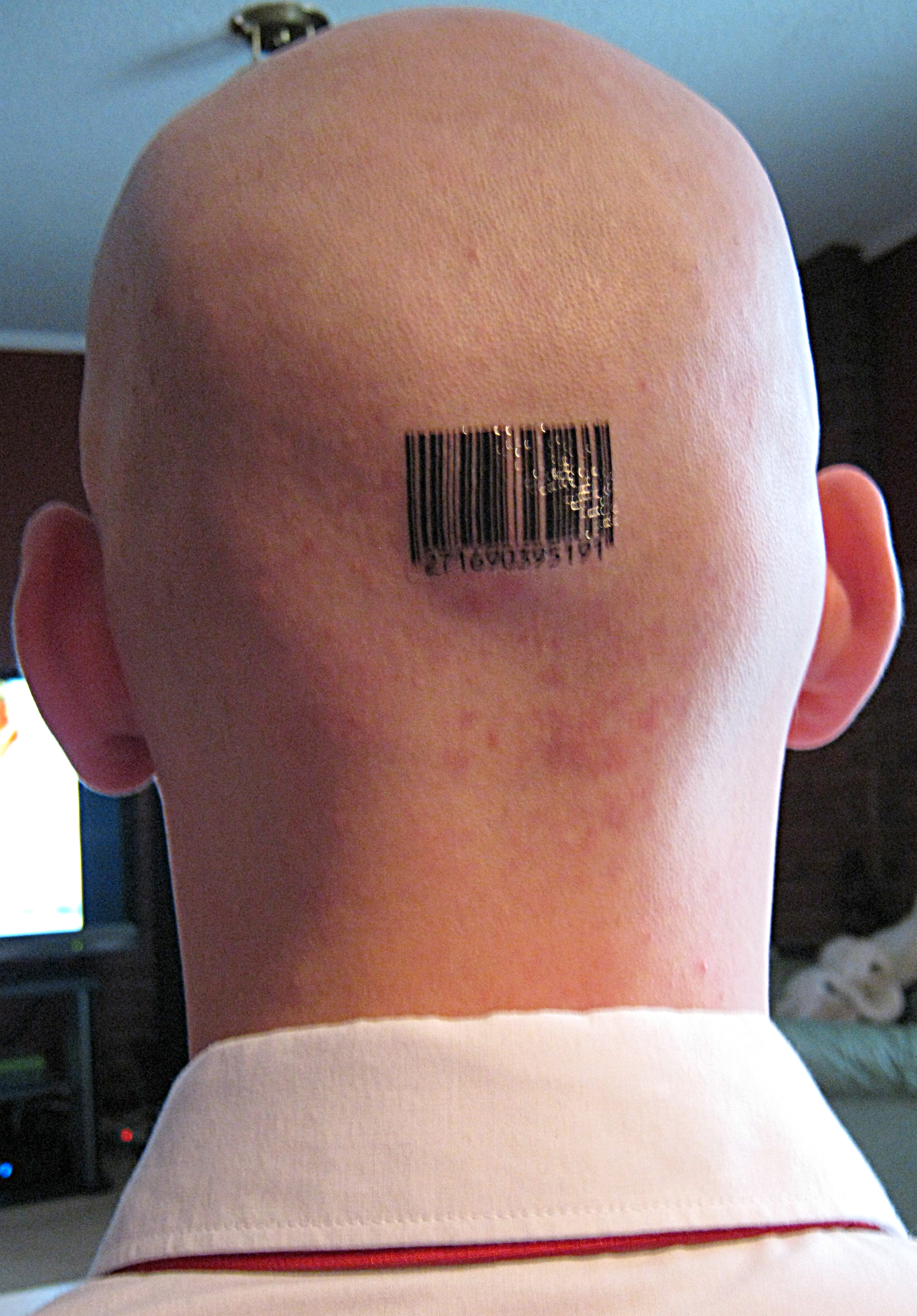 Barcode Tattoo: Custom Barcode Tattoos By Scott Blake