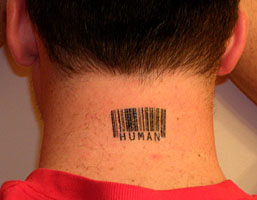 Barcode Tattoo Neck Barcode Tattoos by Sco...