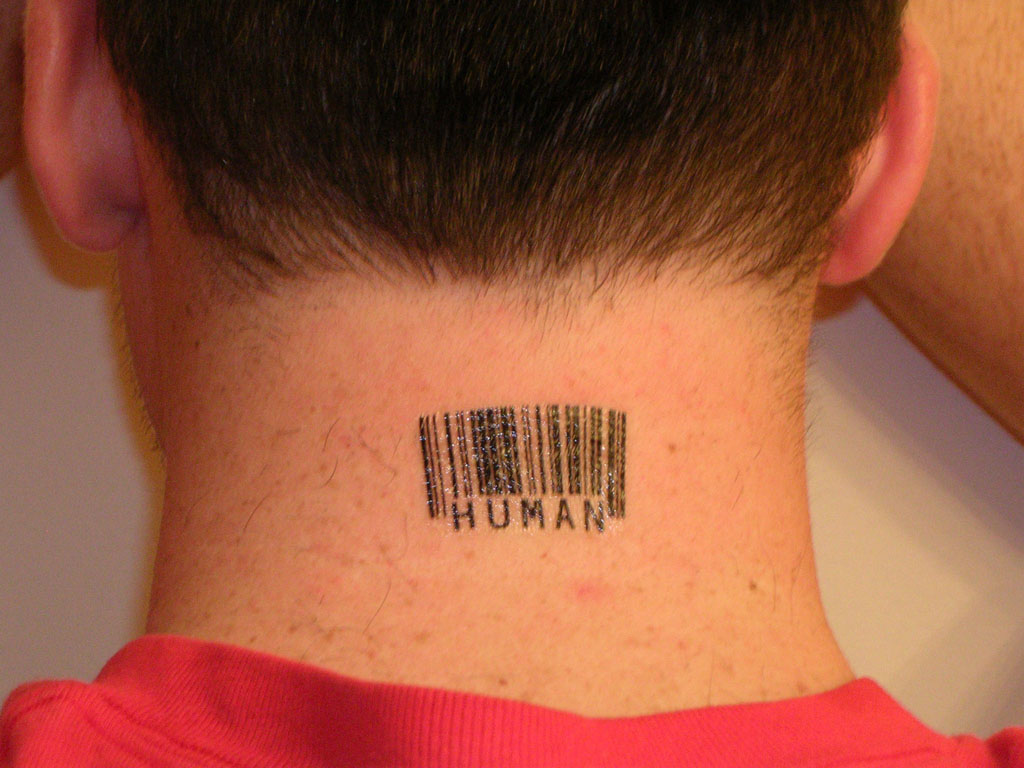 barcode tattoos by scott blake. Black Bedroom Furniture Sets. Home Design Ideas