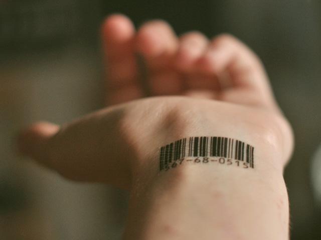 Barcode Number Tattoos By Scott Blake